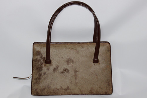 1950s Animal Hide Handbag From Zimmerman S Taxidermists Of Nairobi