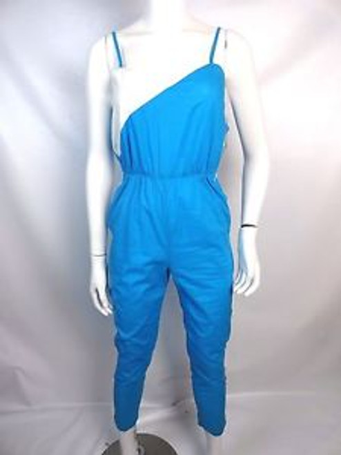3904874da1b Vintage 80 s Blue and White Jumpsuit - Orlando Vintage Clothing and ...