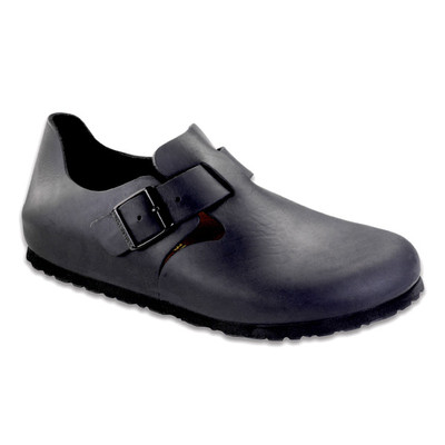 Birkenstock - London Shoe - Black Oiled Leather