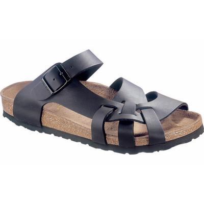 Birkenstock - Pisa Sandal - Black Birko Flor