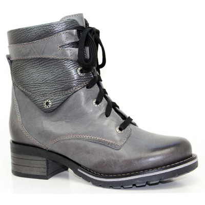 Dromedaris - Kara Boot -  Metallic Slate Leather