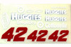 No 42 - 1/24 Huggies - Go Fast - GF-42HU