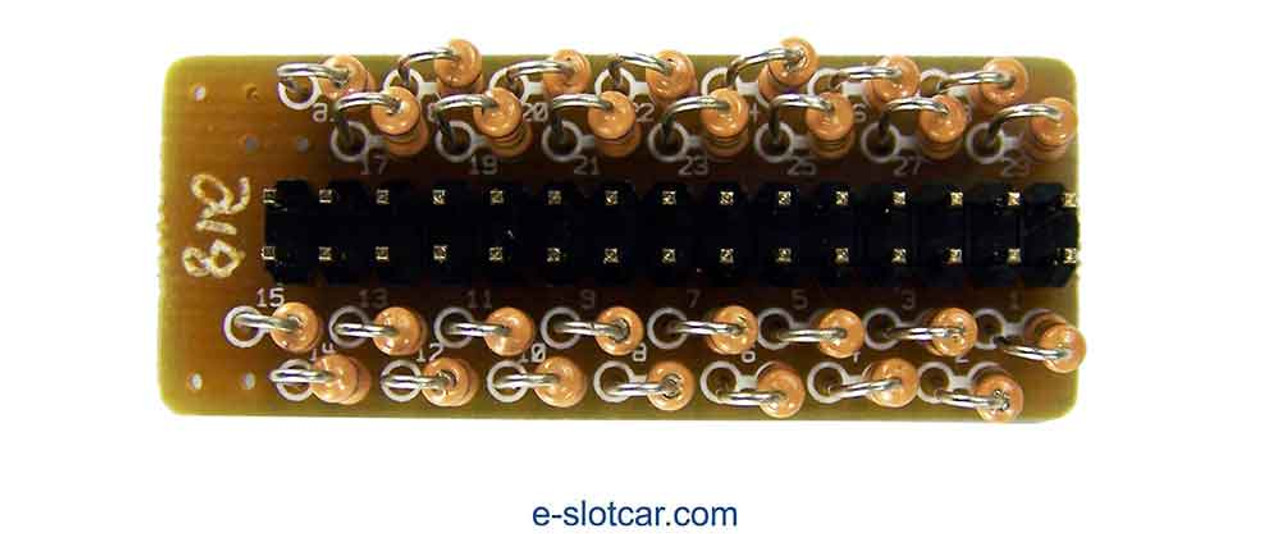 Difalco HD30 218 Ohms Resistor Network - Slow response - DD-263