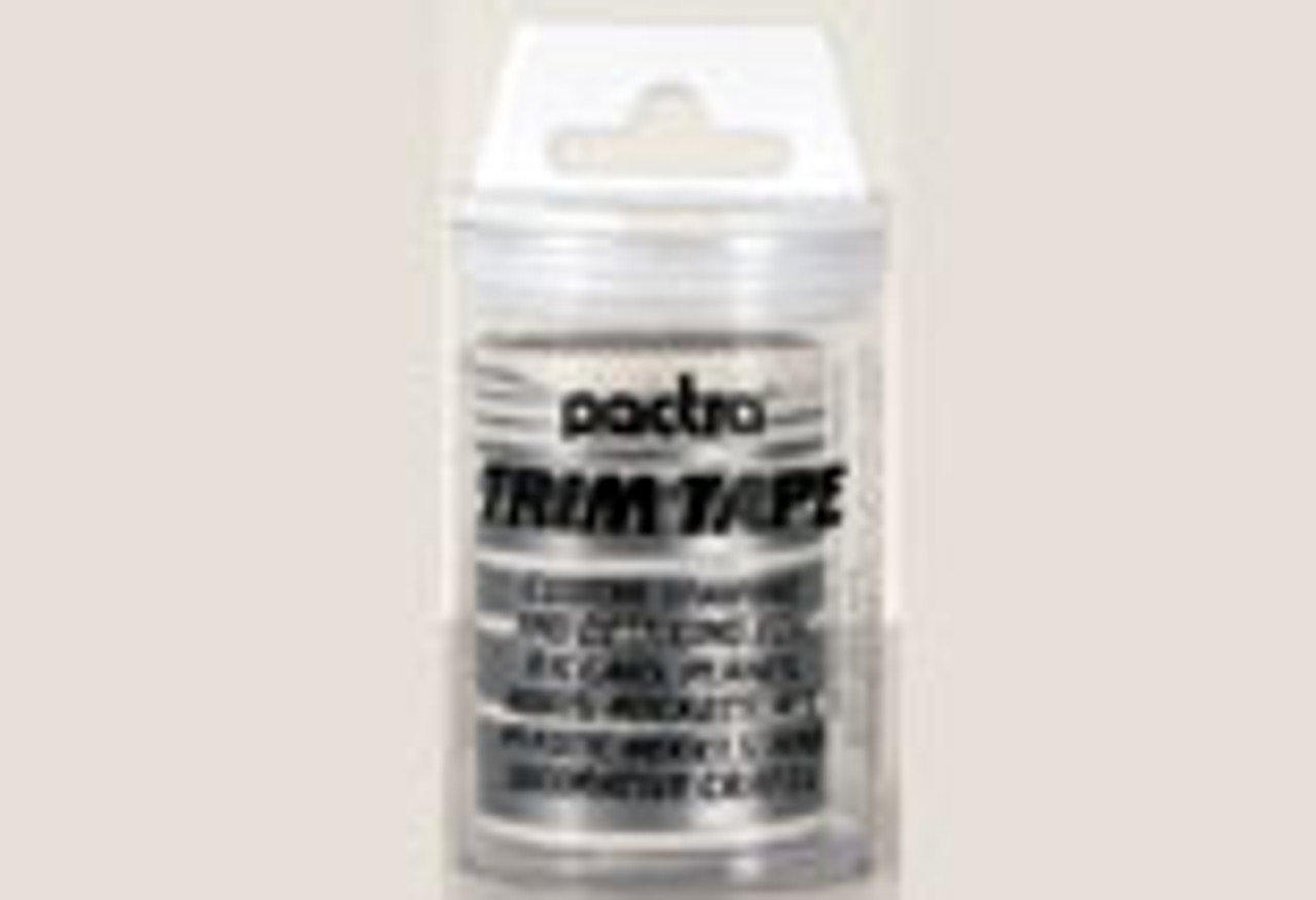 Pactra Trim Tape - Silver - PAC-TT28