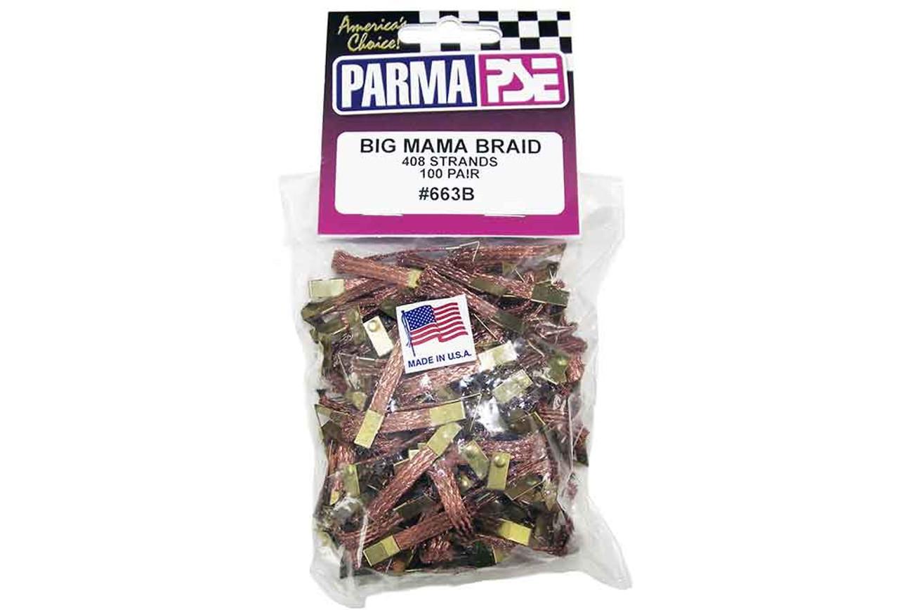 Parma Big Mama Braid - 100 pr pack - PAR-663B