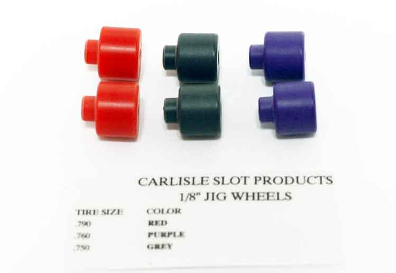 Carlisle 1/8  Jig Wheels - CSP-18W