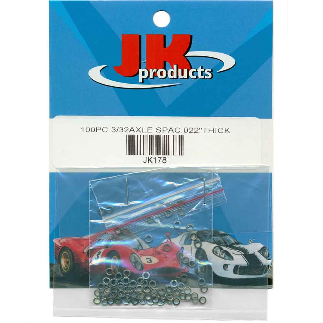 JK .022 Thick 3/32 Axle Spacers - JKU54-100 / JK-178