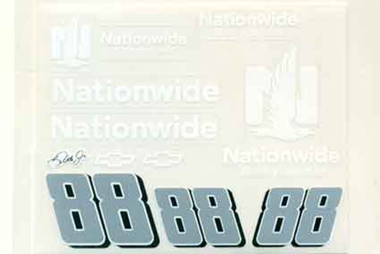 No 88  - 1/24 Nationwide Chevy - Go Fast - GF-88NW