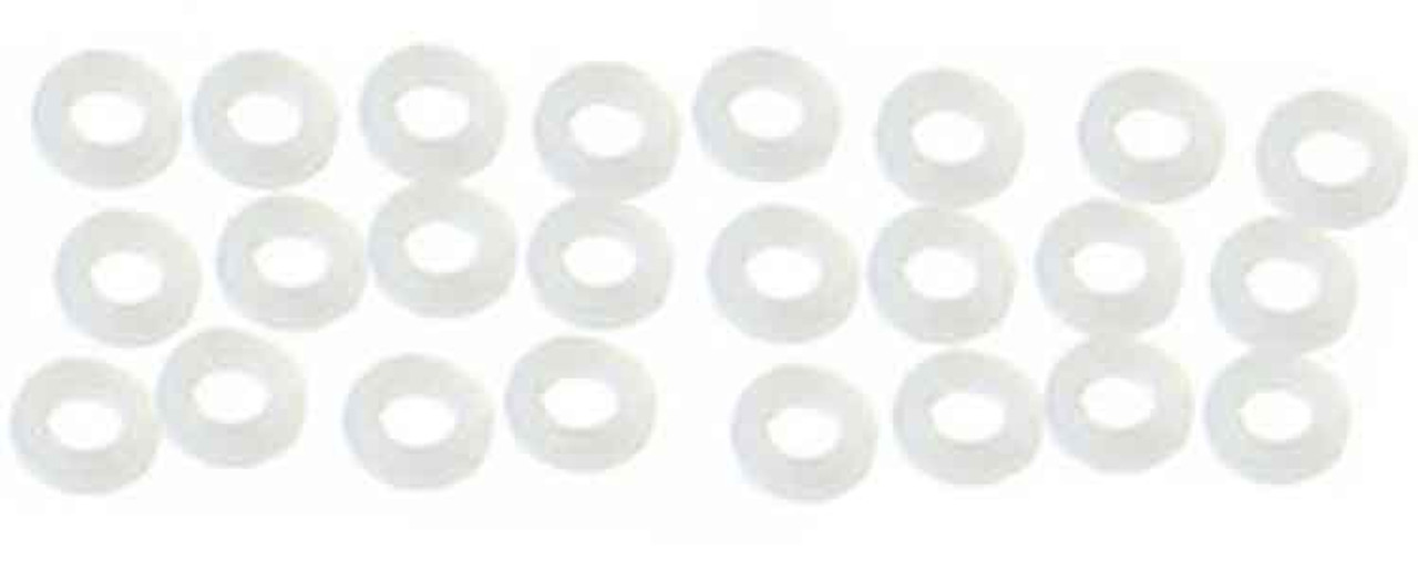 Koford .005 Thick 3/32 Plastic Axle Spacers - Box of 24 - KOF-M704