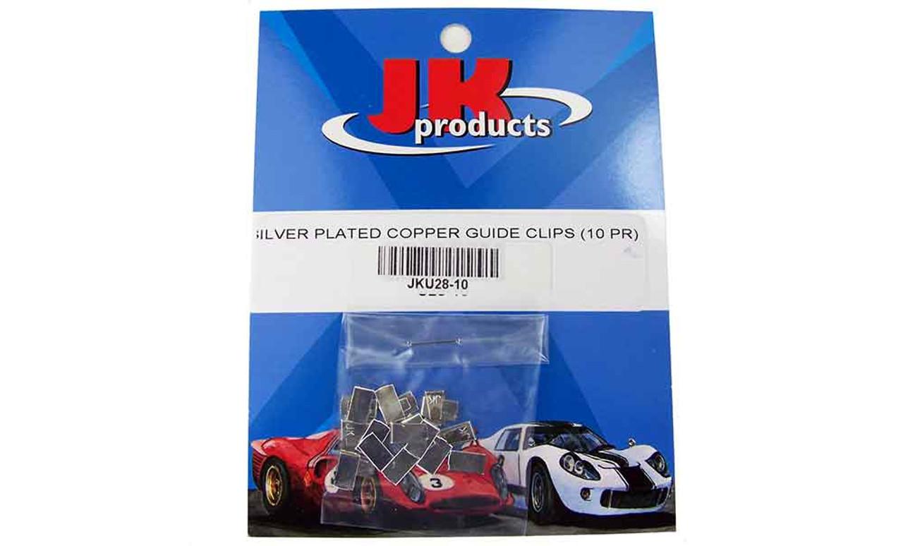 JK Silver Plated Copper Guide Clips 10 pr Pack - JKU28-10