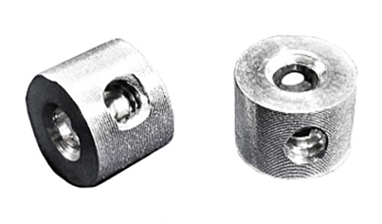 Chi-Town 3/32 Axle Collars Magnesium  1 Pair -  CT-035