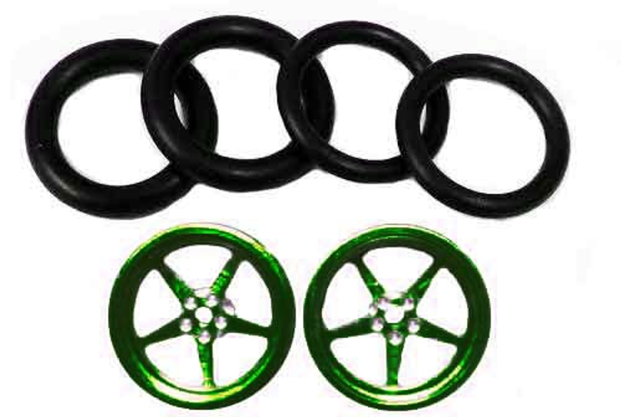 Pro-Track 3/4 x 1/16 x 1/8 wide Style I - Green - PTC-411I-GR
