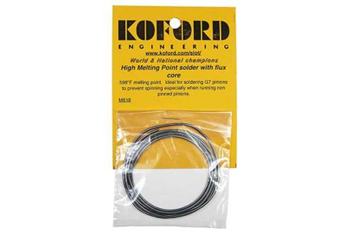 Koford High Temp Silver Solder - KOF-M618