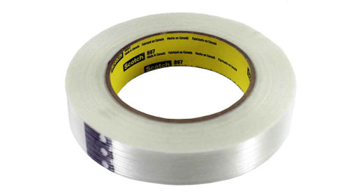 "Scotch / 3M 1/2"" Strapping Tape - 3M-897"