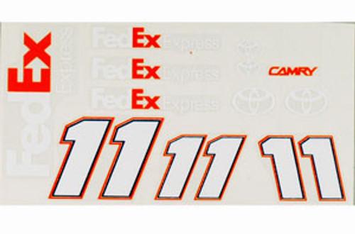 """No 11 - 1/24 FedEx Toyota 4 1/2"""" - Go Fast - GF-P11F"""