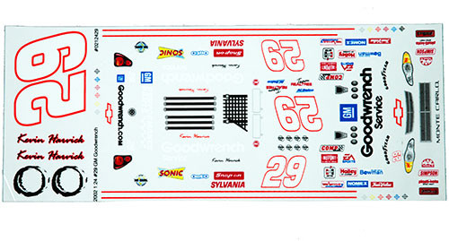 No 29 - 1/24 Goodwrench Chevy - Grafixx - GRFX-0212429