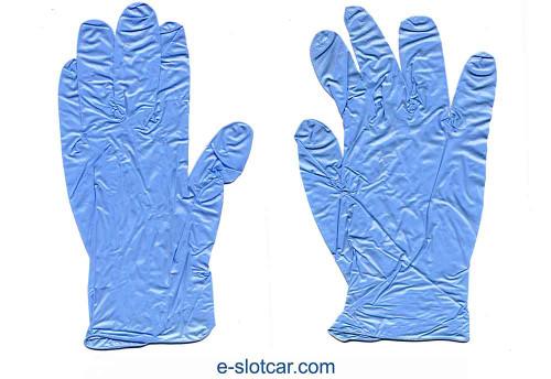 Koford Blue Nitrile Gloves - KOF-M638
