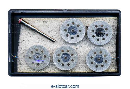 Diamond Cutting Disks with Mandrel - WW-DCD