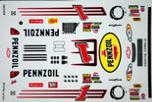 No  1 - 1/24 Pennzoil Chevy - Grafixx - GRFX-312401