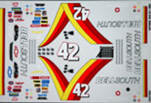 No 42 - 1/24 Bellsouth Chevy - Grafixx - GRFX-9912442