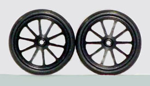 "JDS 17"" 10 Spoke Fronts - Black - JDS-7021B"