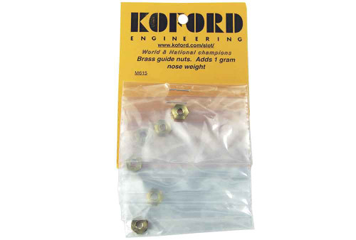 Koford Brass Guide Nuts - 6 pack - KOF-M615