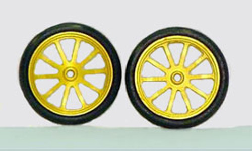 "JDS 17"" 10 Spoke Fronts - Gold - JDS-7021G"