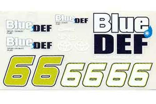 No 66 - 1/24 Blue Def Toyota - Go Fast - GF-66BD