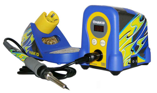 Hakko Iron and Complete Soldering Station - HAK-FX-888D-RC/P