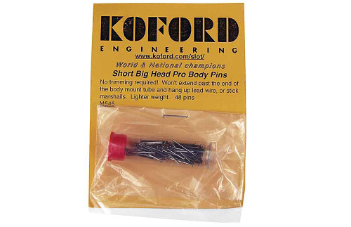 Koford Short Big Head Pro Body Pins - KOF-M545