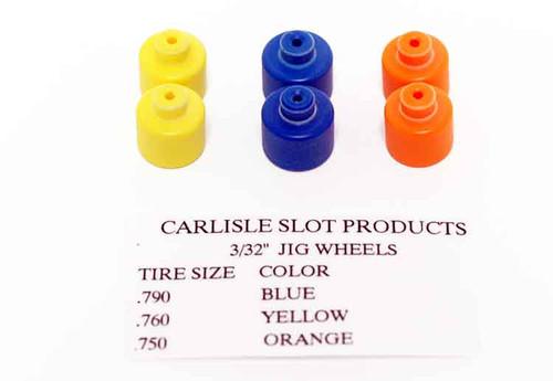 Carlisle 3/32 Jig Wheels - CSP-332W