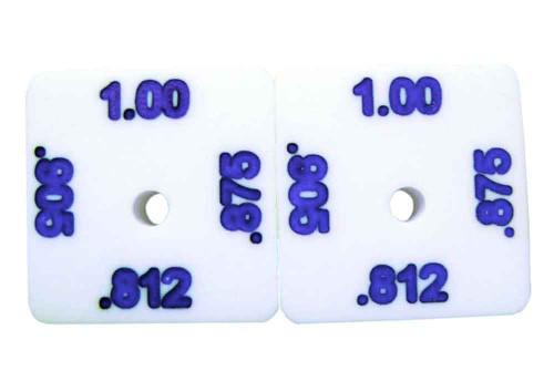 "Precision Slot Cars 1/8"" FCR Set-Up Wheel Blocks - PSC-1401"