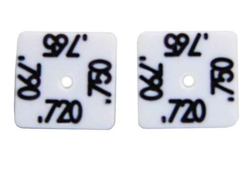 "Precision Slot Cars 1/8"" Set-Up Wheel Blocks - PSC-2100"