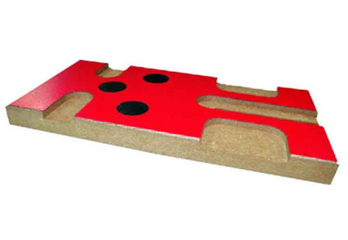 JK Set-Up Block w/Magnets - Red - JKL26 / JK-PSBR