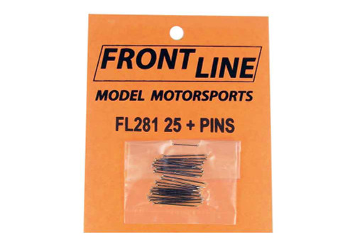 Frontline Body Pins Big Head 25 pk - FL-281