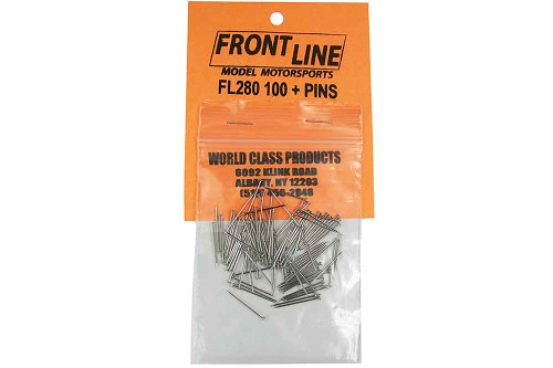 Frontline Body Pins Big Head - 100 pk - FL-280