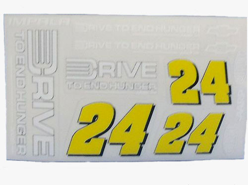 No 24 - 1/24  Drive to End Hunger Chevy - Go Fast - GF-24DTEH