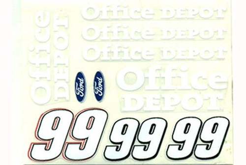 No 99 - 1/24 Office Depot Ford - Go Fast - GF-99