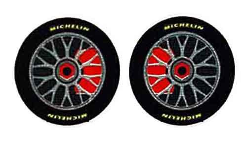 """JK 5/8"""" Front Wheel/Tire Stickers - 6 pr. - JKS36-3 / JK-20036"""