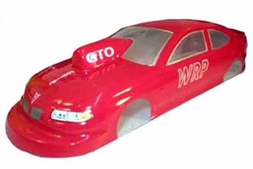WRP 2004 Pontiac GTO Pro Stock - Unpainted - WRP-SB-33