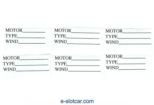 Koford Motor Box Labels - KOF-M573