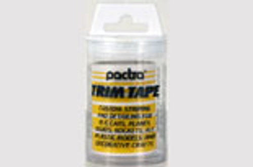 Pactra Trim Tape - Yellow - PAC-TT26