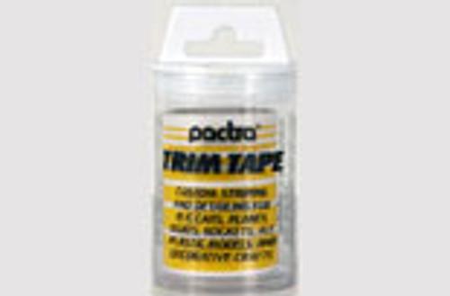 Pactra Trim Tape - Yellow - PAC-TT26