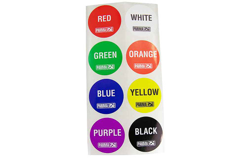 Parma Big Dot Lane Stickers - 200pk - PAR-751BP