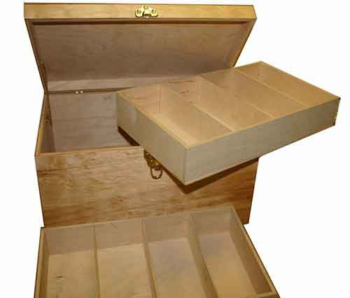 HVR Traditional Carring Case - Medium Slot Box - HVR-105