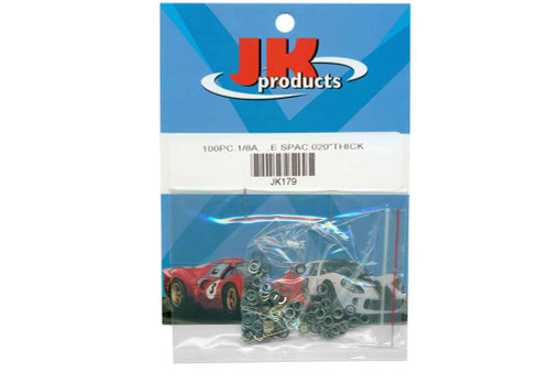 JK .020 1/8 Axle Spacers - JK-179