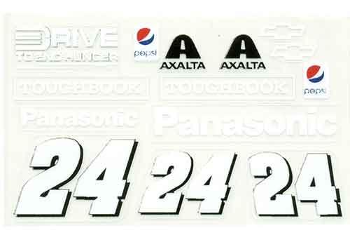 No 24 - 1/24 PANASONIC Chevy - Go Fast - GF-24PANASONIC