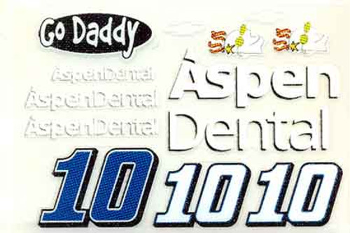 No 10  - 1/24 Aspen Dental / Go Daddy Chevy - Go Fast - GF-10A