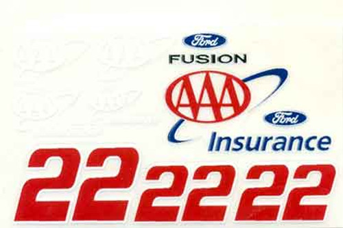 No 22  - 1/24 AAA Insurance Ford - Go Fast - GF-22AAA