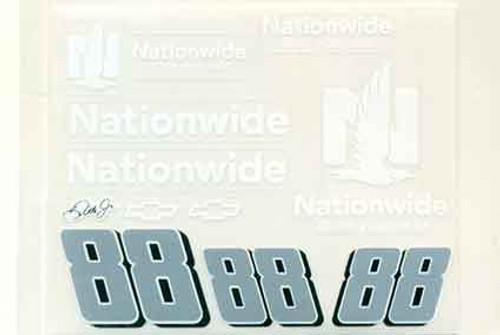 No 88  - 1/24 Nationwide Chevy - Go Fast - GF-88NW